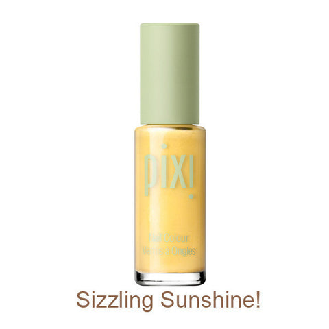 Nail Color Polish in Sizzling Sunshine