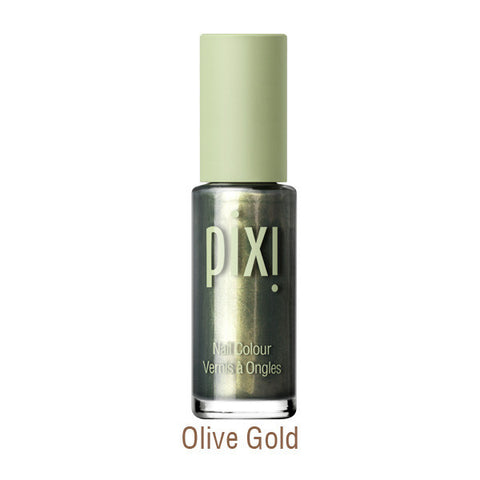 Nail color Polish in Olive Gold
