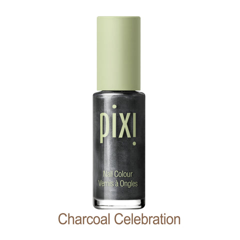 Nail Color Polish in Charcoal Celebration