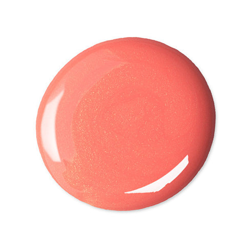 Nail Color Polish in Coral Cantaloupe Swatch