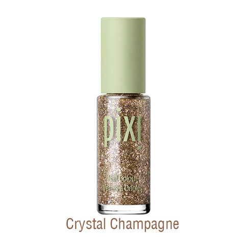 Brightening Top Coat in Crystal Champagne