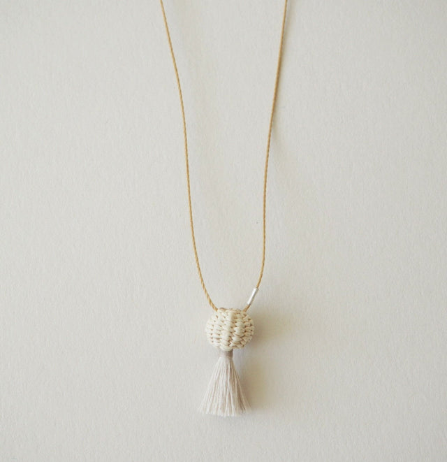 Tiny Basket Necklace
