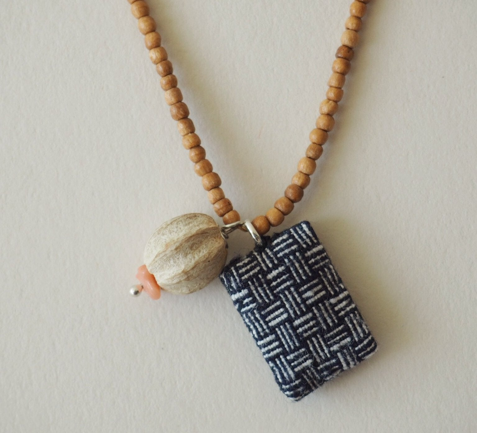 Indigo Trinket Necklace