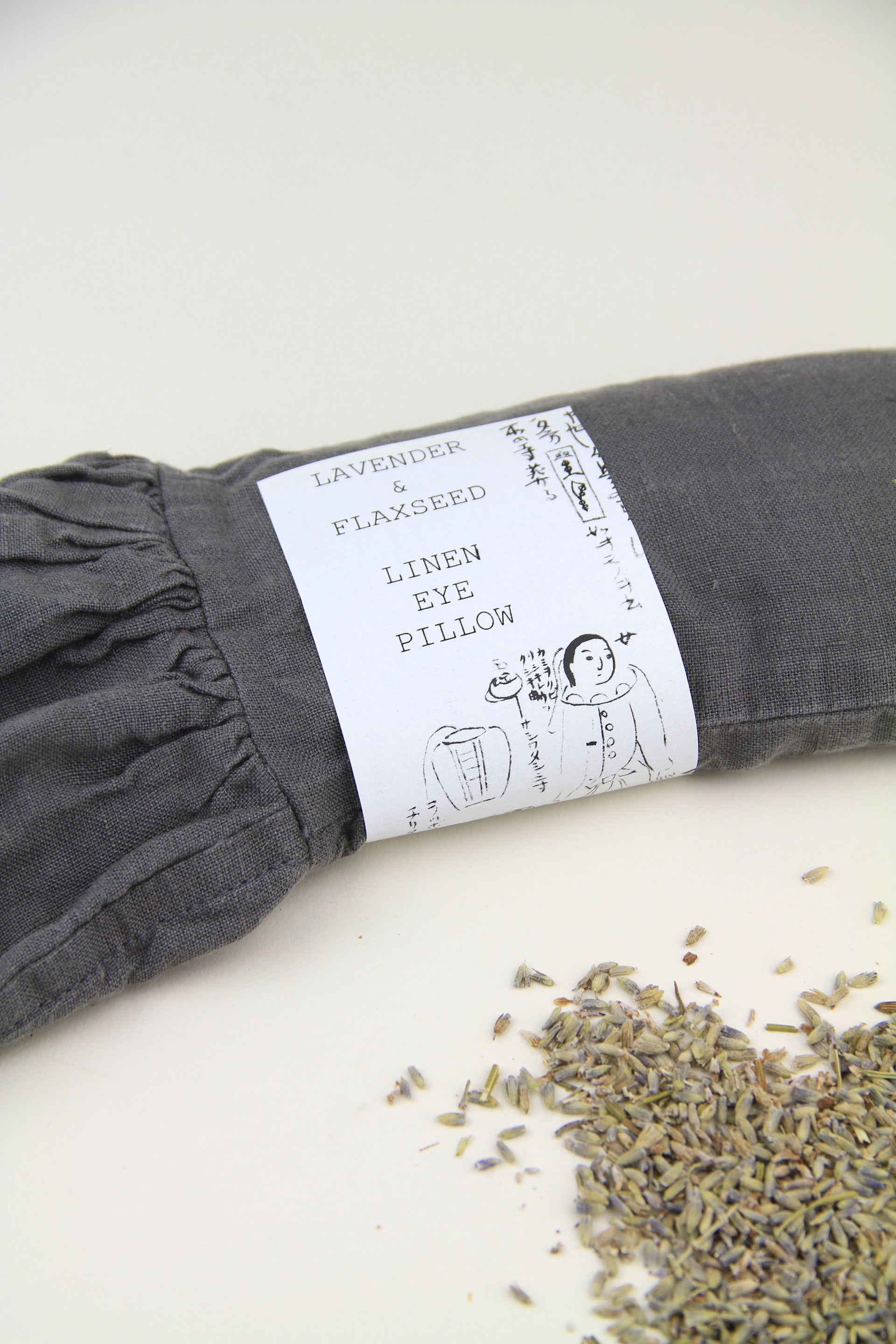 Lavender And Flaxseed Linen Eye Pillow