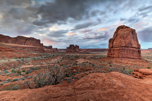 Stormy Skys in Arches National Park by Rob's Wildlife