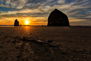 Canon Beach Sunset Landscape Photography by Rob's Wildlife