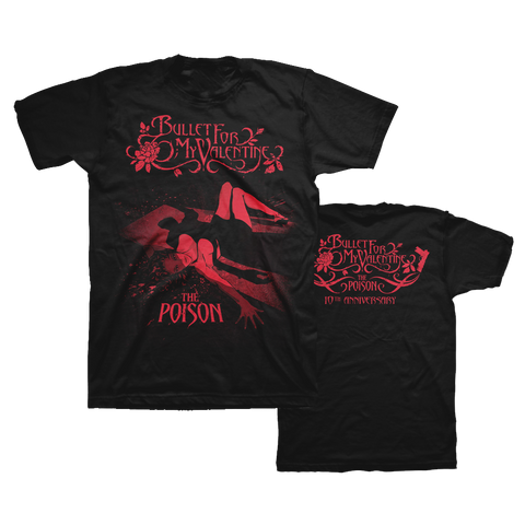 10th Anniversary Poison Cover T-Shirt