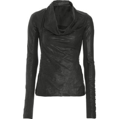 Ladies Washed 100% Soft Lamb Leather  Elegant Jacket