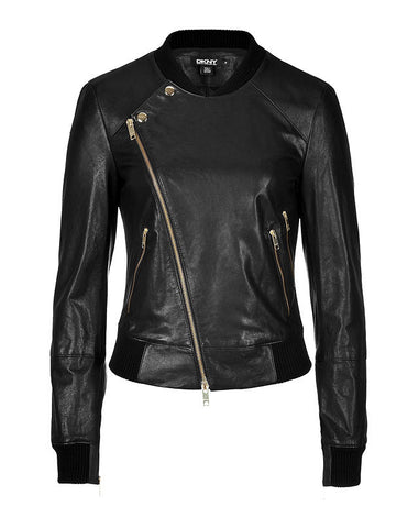 Ladies Soft Lamb Nappa Leather Jacket