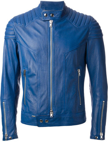 Men's Lamb Nappa Leather Jacket