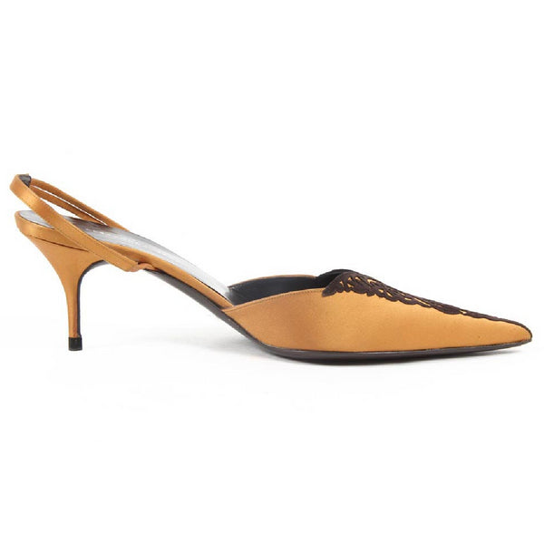 Alexandra Neel Womens Slingback Sandal ICONE ORANGE CHOC