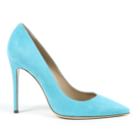 Andrew Charles By Andy Hilfiger Womens Pump Light Blue AUSTIN