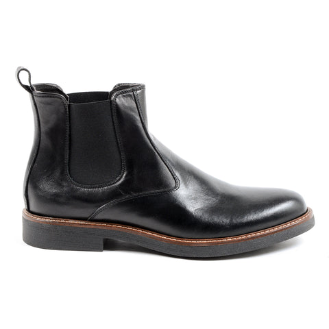 Andrew Charles Mens Ankle Boot Black CHUCK