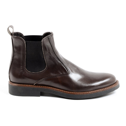 Andrew Charles Mens Ankle Boot Brown CHUCK