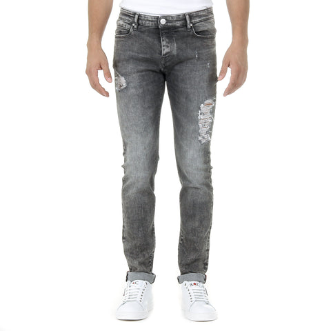 Andrew Charles Mens Jeans Dark Grey JAN