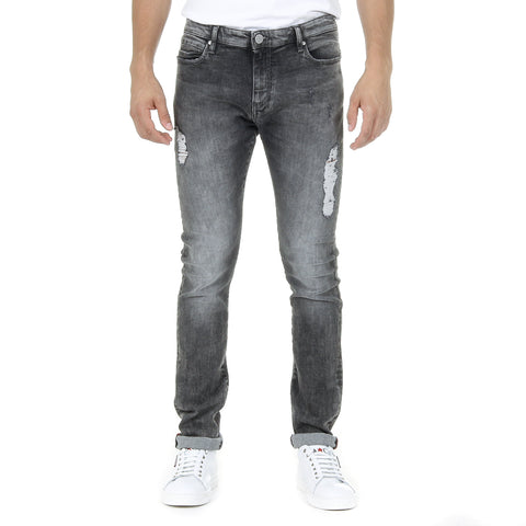 Andrew Charles Mens Jeans Grey THOMAS