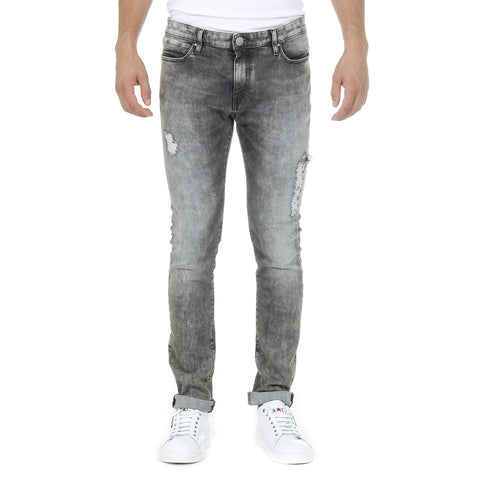 Andrew Charles Mens Jeans Grey