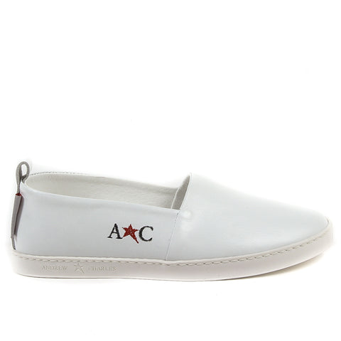 Andrew Charles Mens Slip On Sneaker