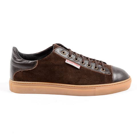 Andrew Charles Mens Sneaker Brown TOM