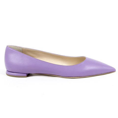Andrew Charles Womens Ballerina Lilac SONIA
