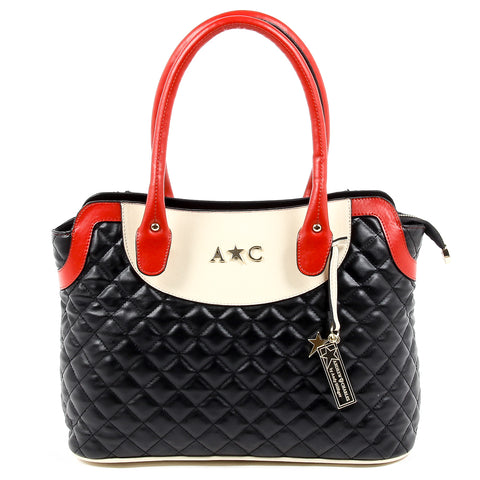 Andrew Charles Womens Handbag Black HOPE
