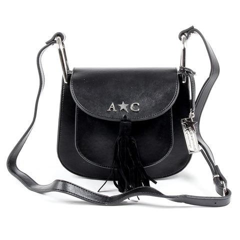 Andrew Charles Womens Handbag Black JOURNEY