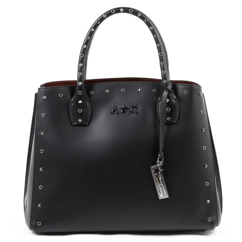 Andrew Charles Womens Handbag Black NELLY