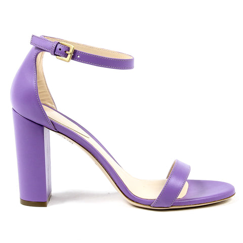 Andrew Charles Womens Sandal Lilac EMMA