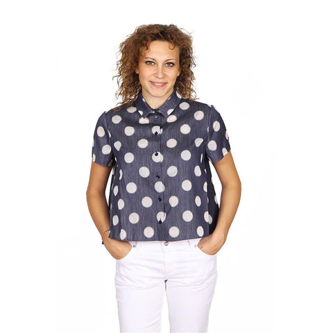 Armani Collezioni ladies shirt short sleeve RMC14T RM402 019