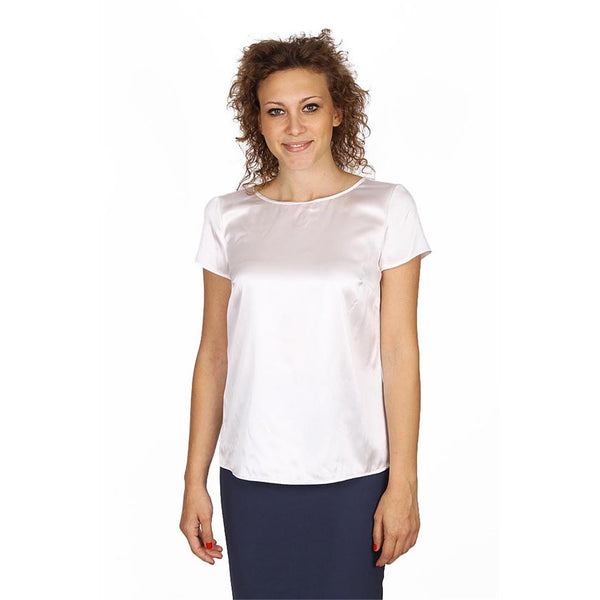 Armani Collezioni ladies shirt short sleeve without buttons RMC05T RM301 101