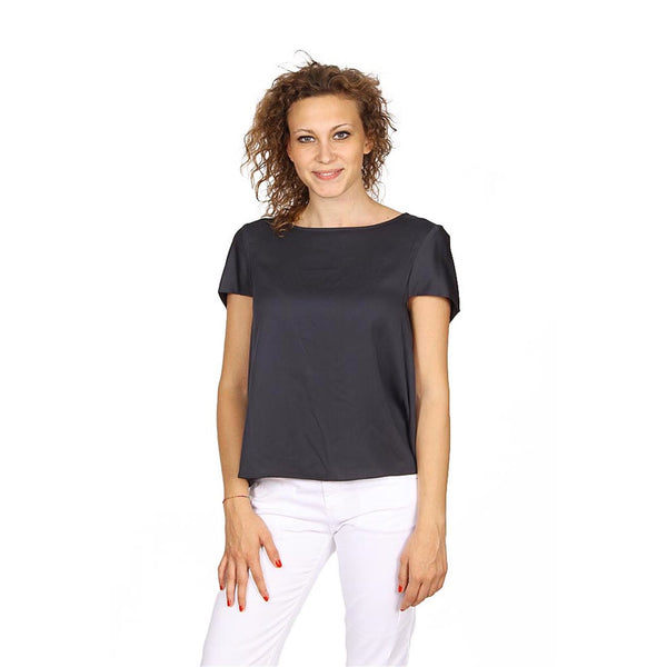 Armani Collezioni ladies shirt short sleeve without buttons RMC17T RM332 627