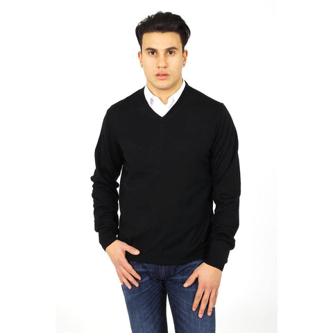 Armani Collezioni mens sweater V neck PCM19M PC01M 999