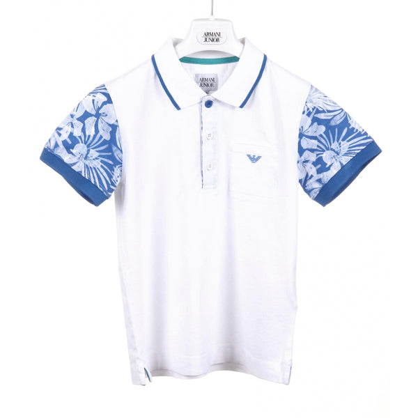Armani Junior boys polo C4F09 QX 10