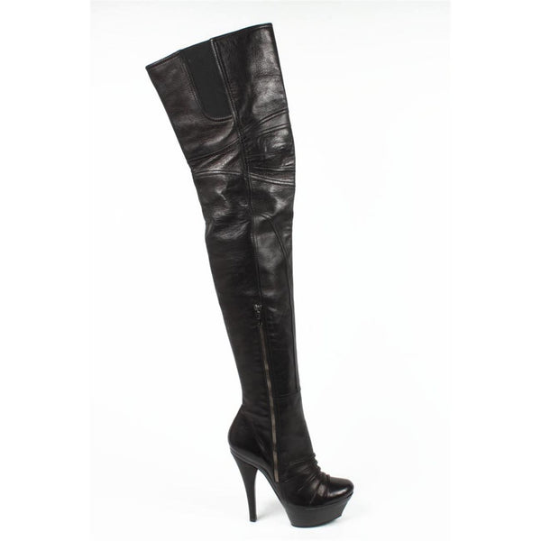 Barbara Bui ladies high boot 5511 BLACK