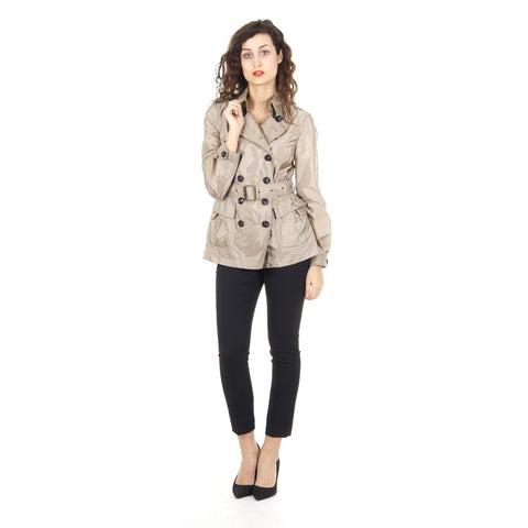 Burberry Brit ladies belted short trench coat Peasdale 3973086