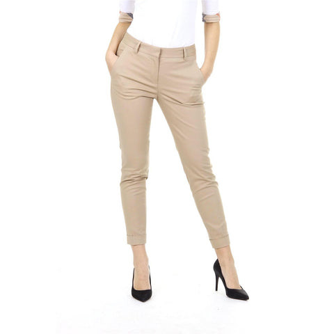 Burberry Brit ladies cuffed wool blend trousers Tarnock 3956591
