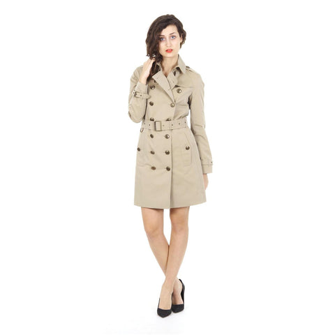 Burberry Brit ladies double breasted trench coat Feldenuc 3955006