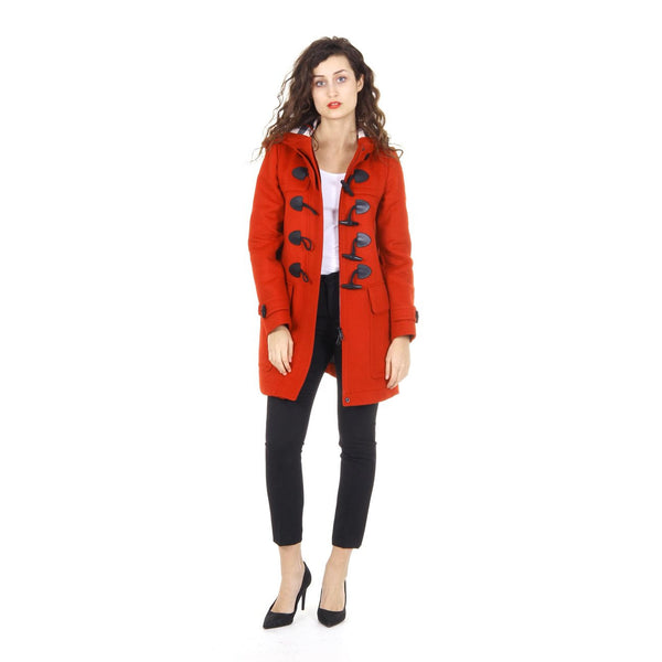 Burberry Brit ladies wool duffle coat Finsdale 3946325