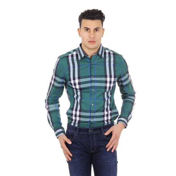 Burberry Brit mens check shirt long sleeve Nelson 3954493