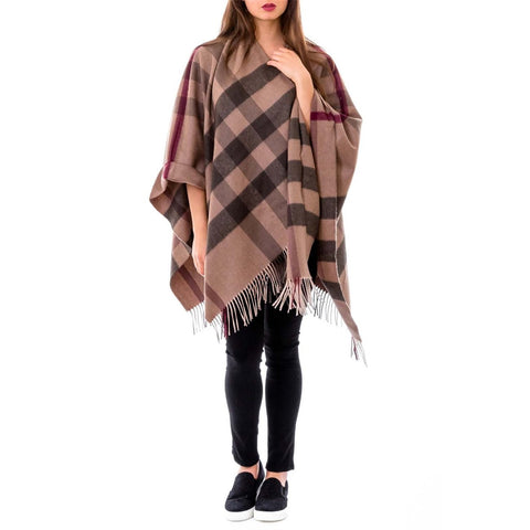 Burberry London ladies check poncho Colletmeri 3895176