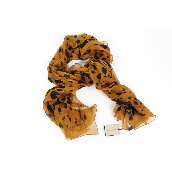 Burberry London ladies silk scarf Animal Print 3957660