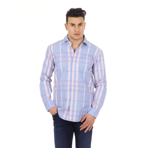 Burberry London mens check shirt long sleeve Melthorpe 3967008