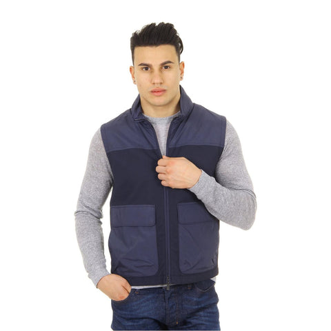 Canali mens gilet Rain & Wind Tech WW3317 O40214 31