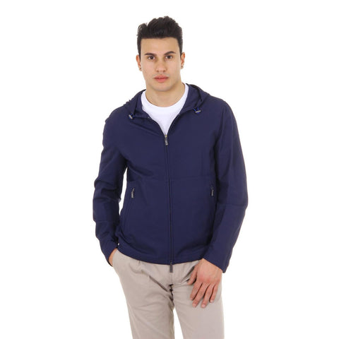 Canali mens hoodie jacket Rain & Wind Tech WW3317 O40215 33