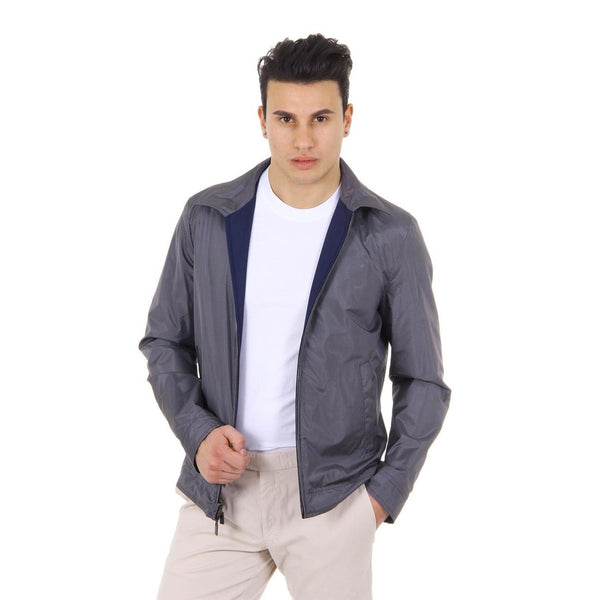 Canali mens reversible jacket WW3503 O40206 32