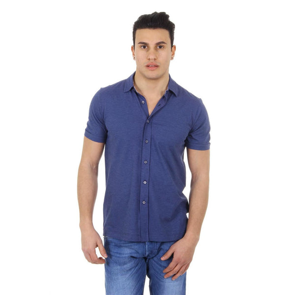 Canali mens shirt short sleeve WJ00266 T0202 31
