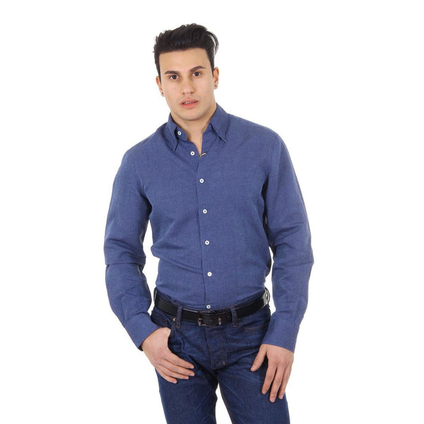Canali mens slim fit shirt W53831 LX02