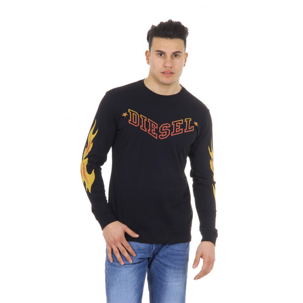 Diesel mens t-shirt long sleeve T-PRIYA 00SDG1 0091B 900