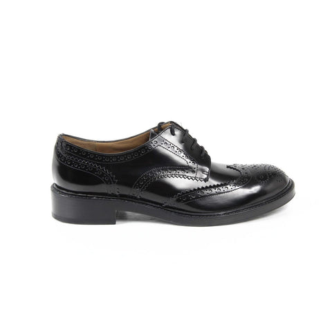 Fratelli Rossetti Womens Oxford Shoe 65243 916 DOUBLE BRUS 01 NERO