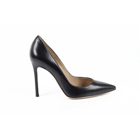 Gianvito Rossi Womens Pump 28470 NAPPA BLACK